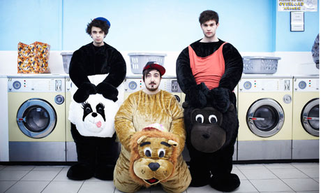 The Midnight Beast in a publicity shot for its new E4 sitcome